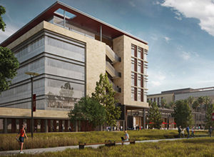 Rendering of Redwood City campus