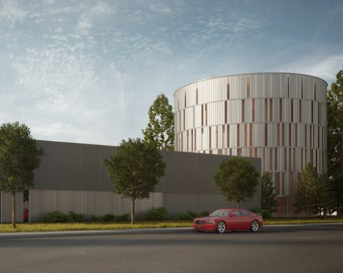 "Rendering of New ""Mini CEF"" at Redwood City"