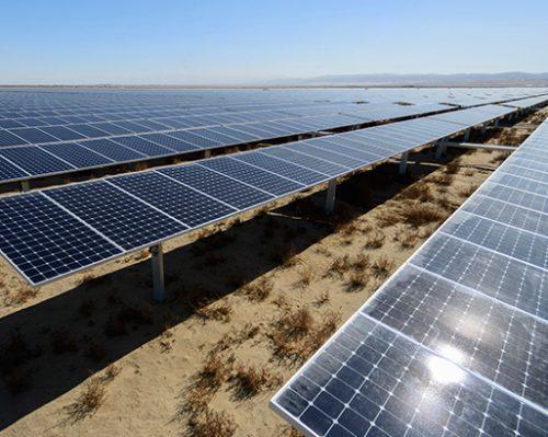 Stanford Solar Farm, Kern County